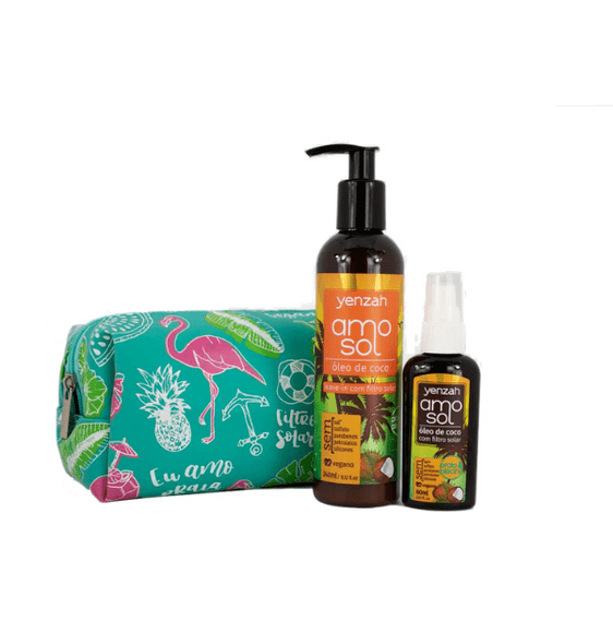 AMO-SOL---KIT---NECESSAIRE---LEAVE-IN-240ML---OLEO-60ML
