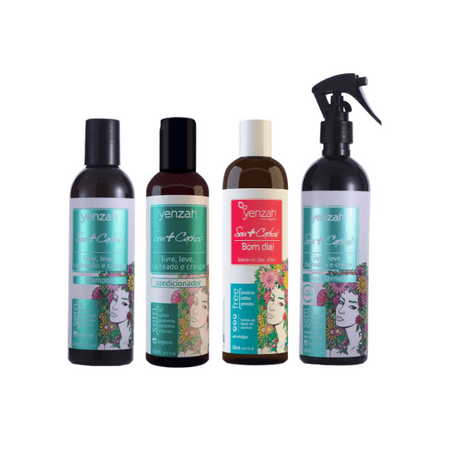 Kit-Sou-Cachos---Shampoo---Condicionador---Leave-in-Bom-dia---agua-Termal