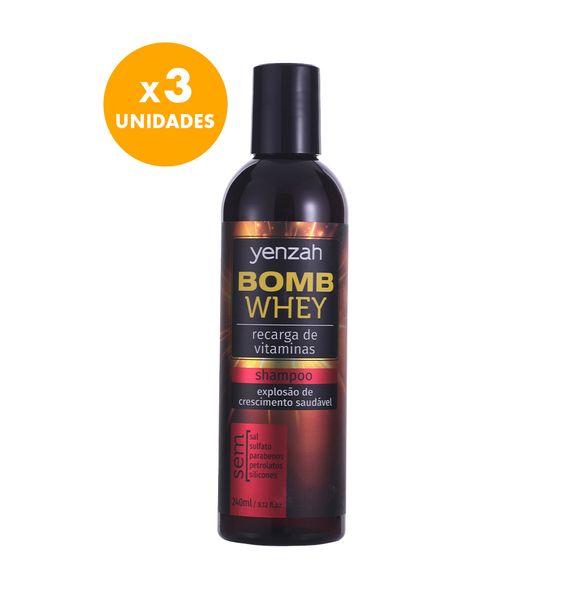 Kit-Yenzah-Bomb-Whey-com-3-unidades-de-shampoo-240ml