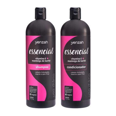 1---Shampoo-Yenzah-Essencial-900ml-e-Condicionador-Yenzah-Essencial-900ml